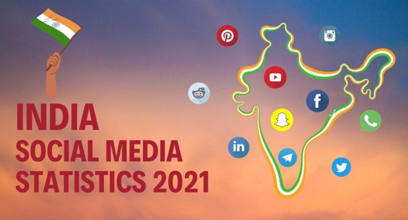 India Social Media Statistics 2021