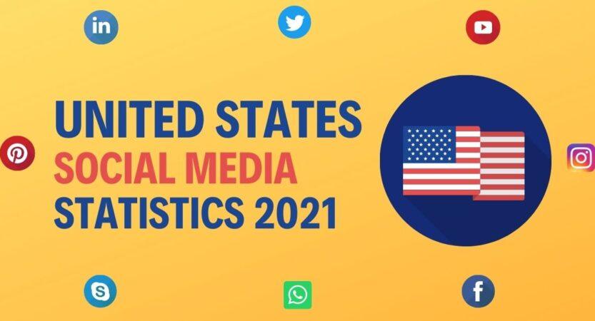 US Social Media Statistics 2021