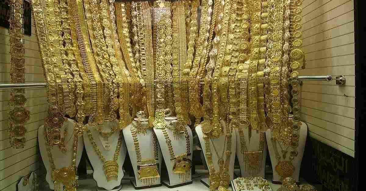 Shopping at the Dubai Gold Souk