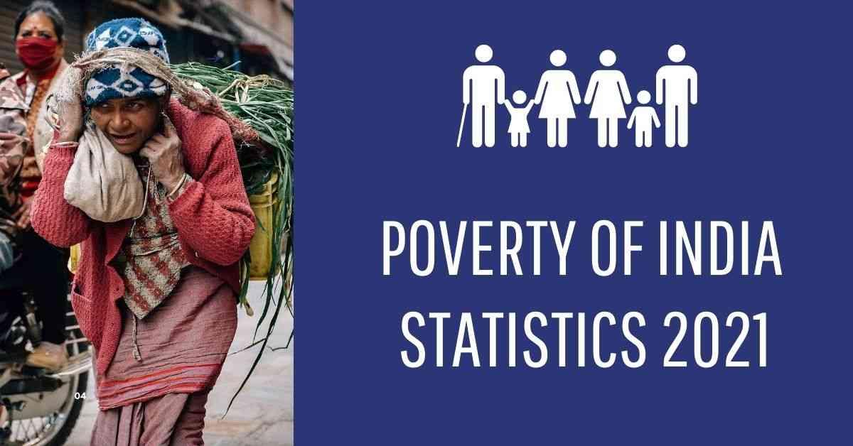 Poverty in India Statistics 2021